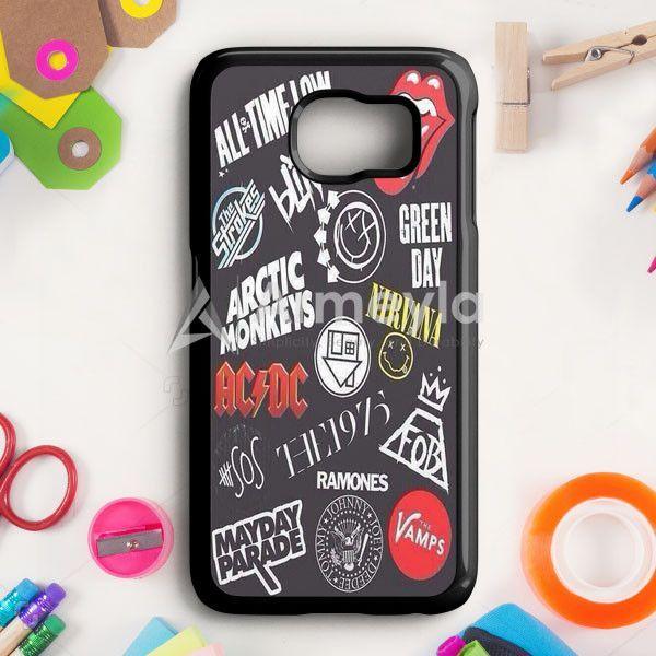 Ramones Mayday Parade Collage Samsung Galaxy S6 Case   armeyla.com