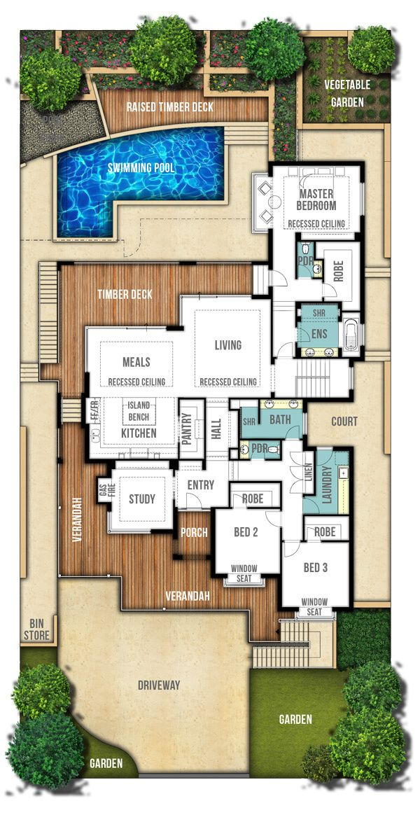 The Hampton Another Stunning Home Design By Boyd Design Perth House Layouts Dream House Plans House Plans