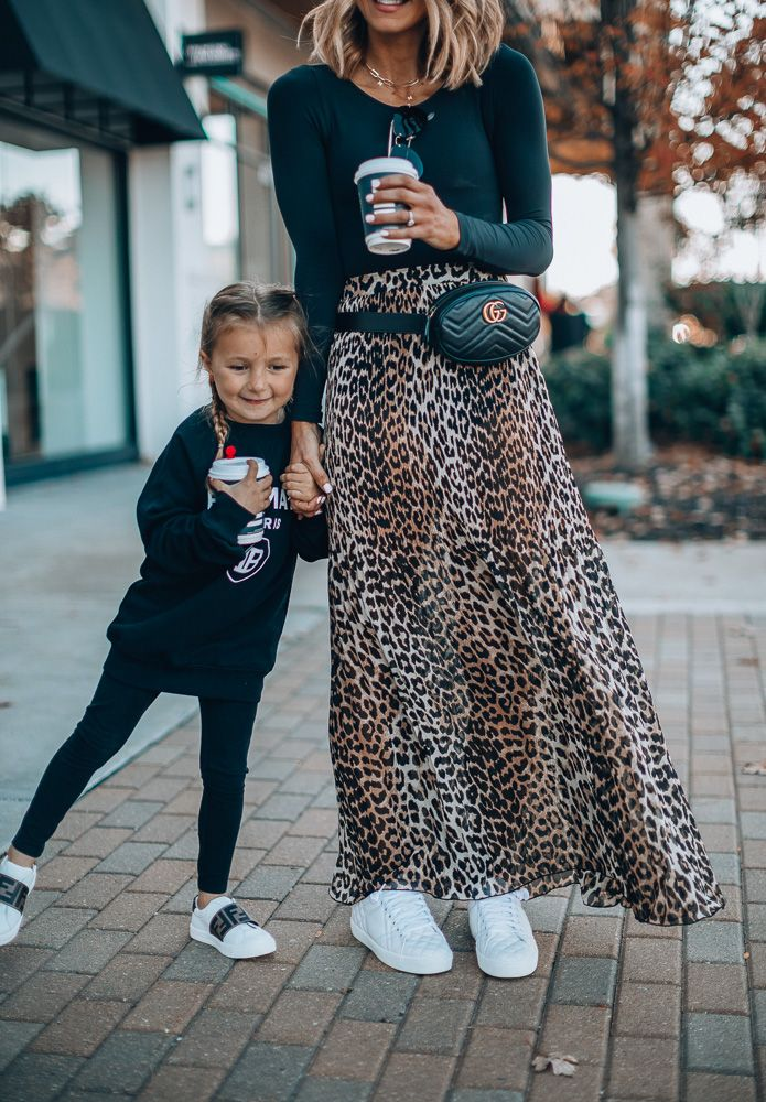 How to Style an Edgy and Chic Mommy and Me Look