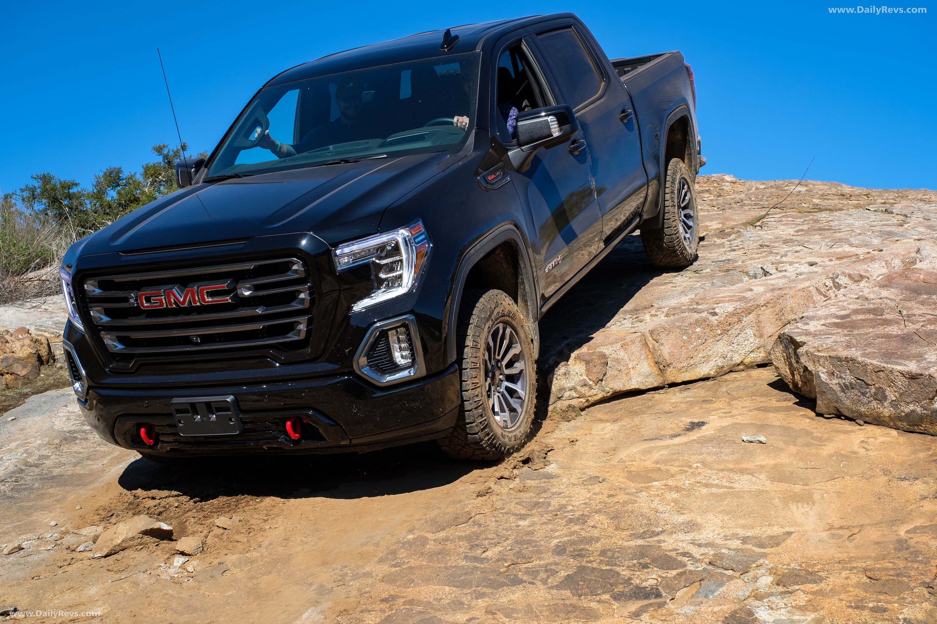 2019 Gmc Sierra At4 Hq Pictures Specs Information And Videos Dailyrevs In 2020 Gmc Sierra Gmc Sierra
