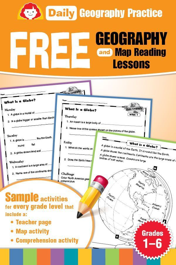 Teaching Supplies & Lesson Plans:Daily Geography Free Sampler   Evan-Moor