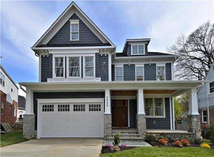 5902 Conway Road - Bethesda, Maryland Real Estate - Jeremy Lichtenstein - Front Elevation