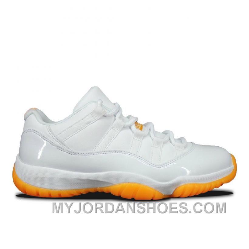0b58eb6035d Authentic 580521-139 Air Jordan 11 Retro Low Girls White White ...