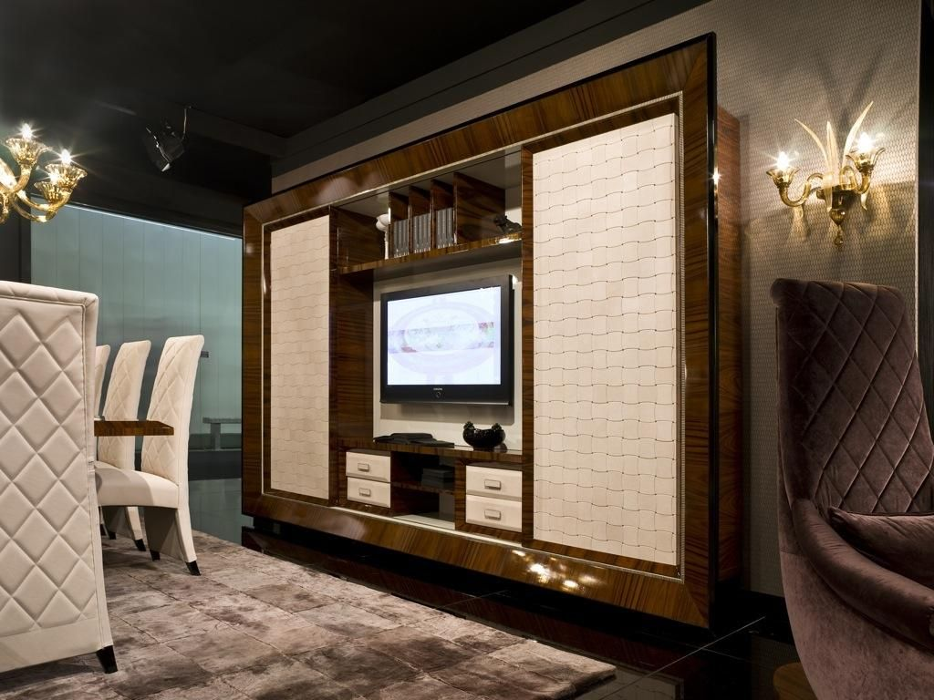 Minotti Collezioni Srl Dolce Vita Tv Cabinet Dining Modern  # Muebles Dolce Vita