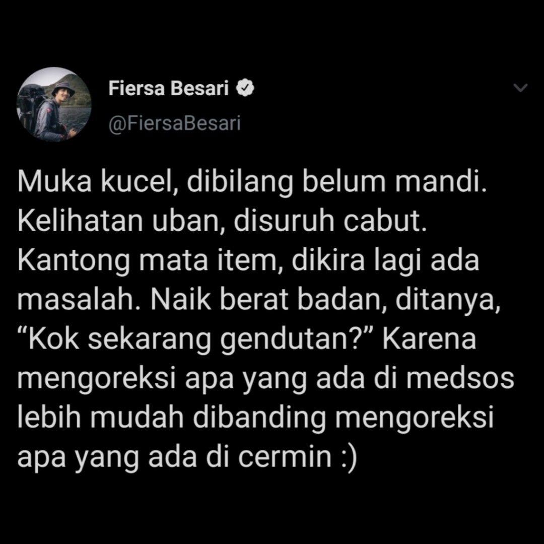 Fiersa Besari on Twitter
