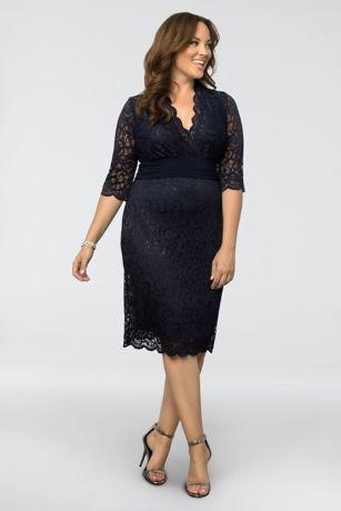 be13678b0d9 Lumiere Lace Plus Size Cocktail Dress 13160907