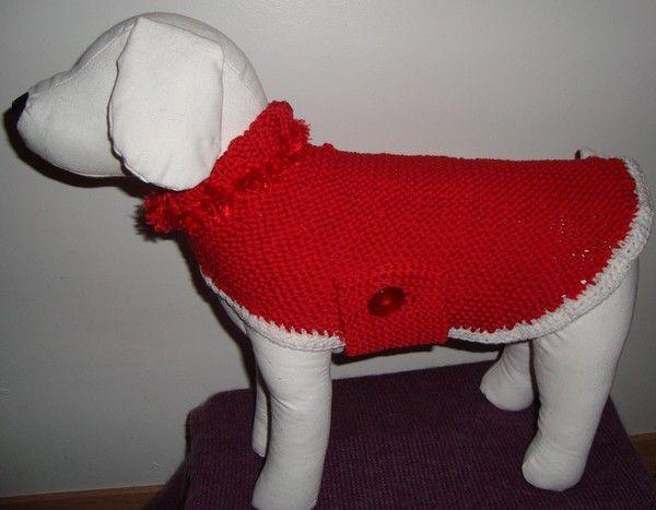 patron tricot pour yorkshire