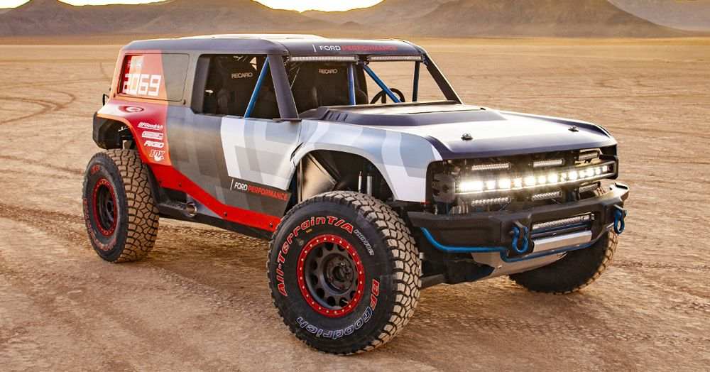 Ford Built A Badass 2020 Ford Bronco R Race To Dominate