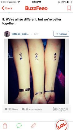 47b7f2e720fb2 19 Unisex Tattoos For You & Your Siblings | tattoo | Sibling tattoos ...