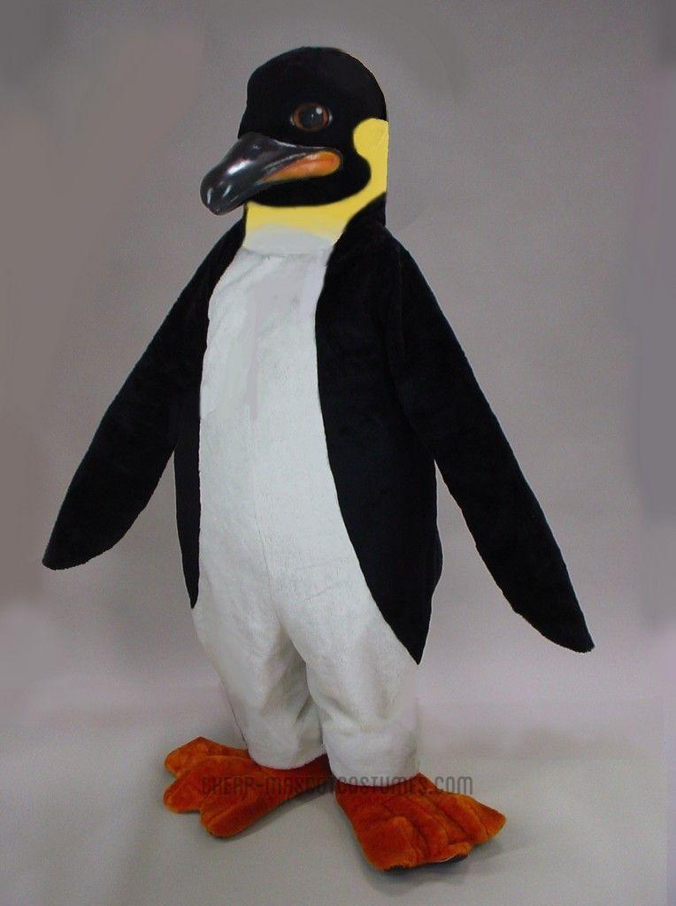 Emperor penguin mascot costume mascot costumes penguins