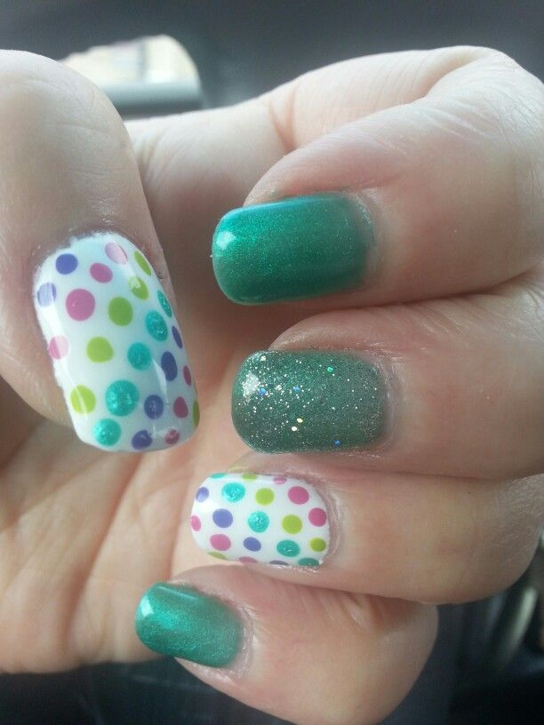 Nail fun with Stacey Breck at Shear Delight