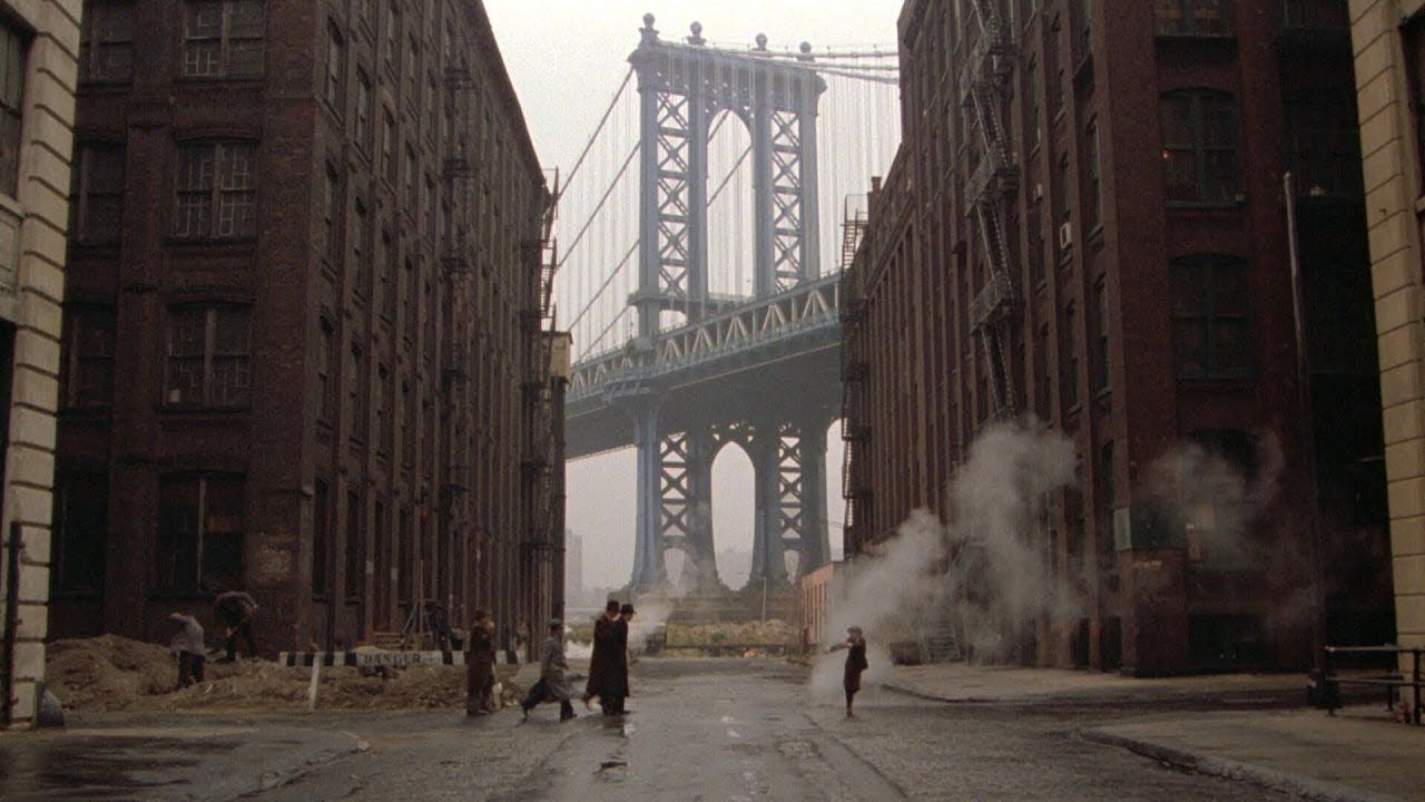 Once Upon A Time In America 1984 Filming Locations New York Robe In 2020 Filming Locations Once Upon A Time Movie Locations