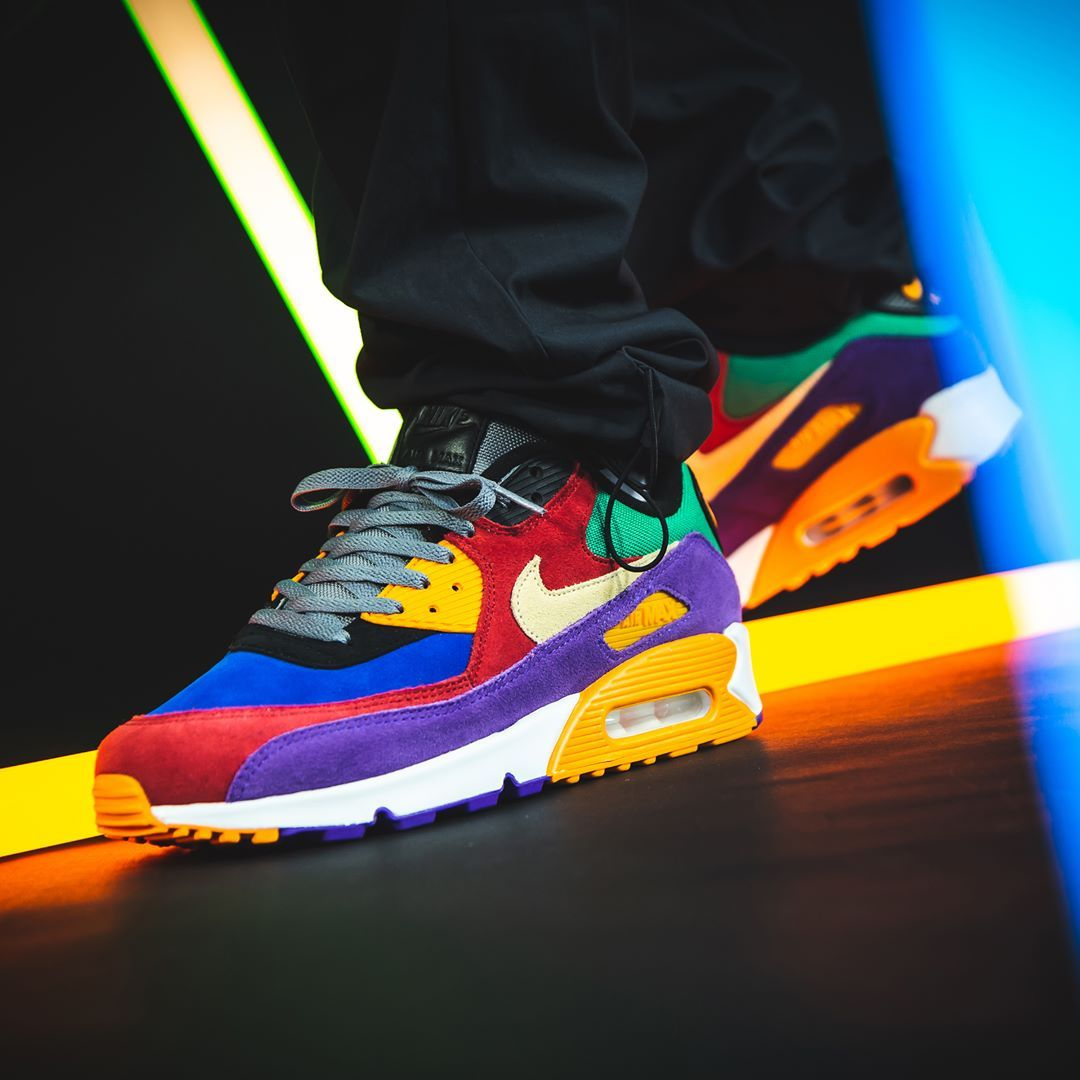 Nike Air Max 90 QS in bunt CD0917 300 | Nike air, Sneaker
