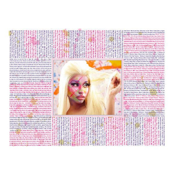 """Nicki Minaj's """"Pink Friday Roman Reloaded"""" Album In Stores Now! ❤ liked on Polyvore"""