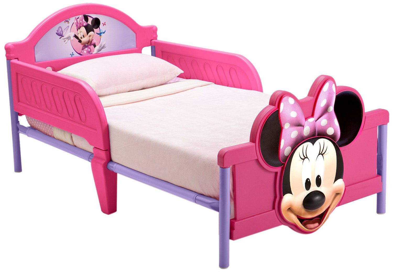 Cama infantil minnie mouse 140cms x 70cms bb86682mn - Camas infantiles disney ...