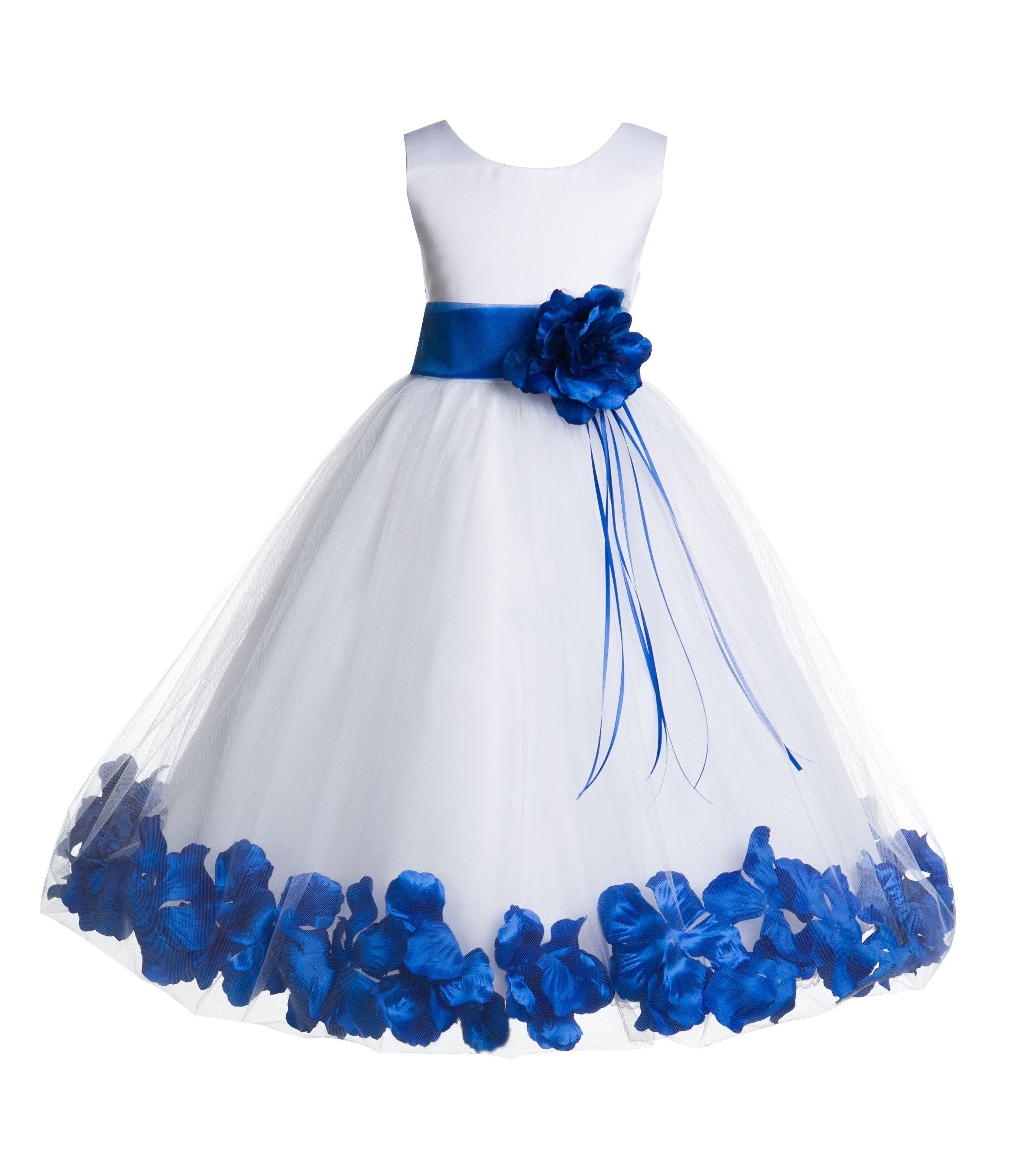 Flower Girls Princess Dresses Bridesmaid Pageant Recital Wedding Gown Birthday