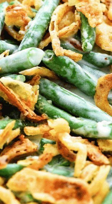 The Best Green Bean Casserole - Favorite Recipes - Green Bean  The Best Green Be...