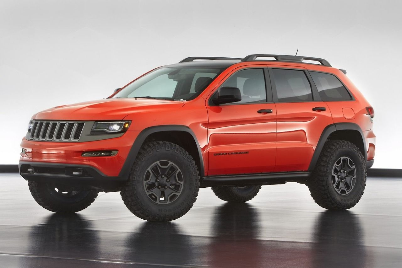 2014 Jeep Grand Cherokee Trailhawk Diesel Concept Jeep Trailhawk