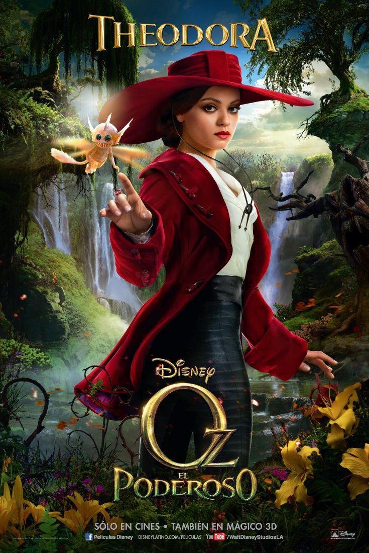 Oz El Poderoso Theodora Novos Filmes Da Disney Historias Disney As Cronicas De Spiderwick