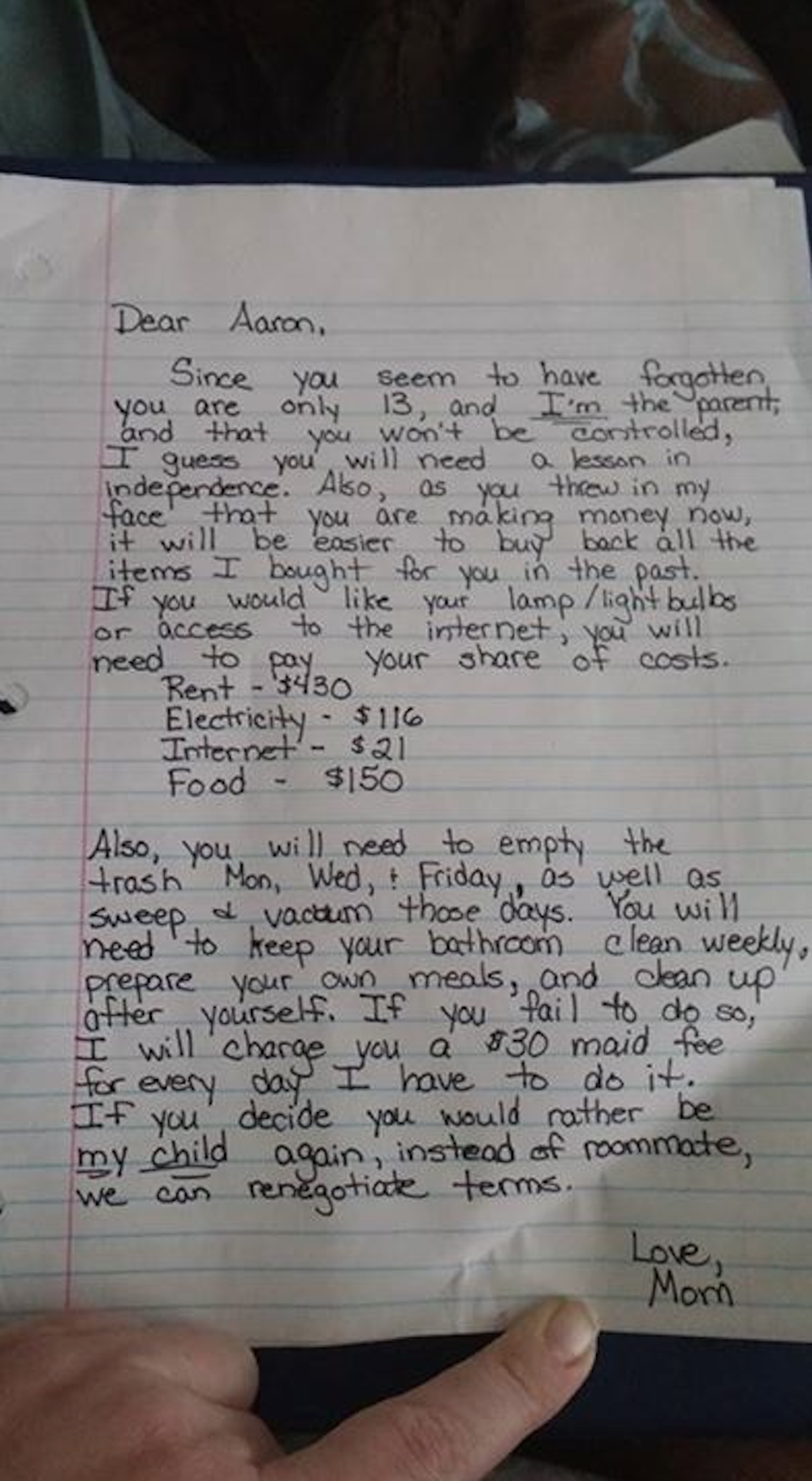 You have to read this moms tough love letter to her teen teen you have to read this moms tough love letter to her teen aljukfo Image collections