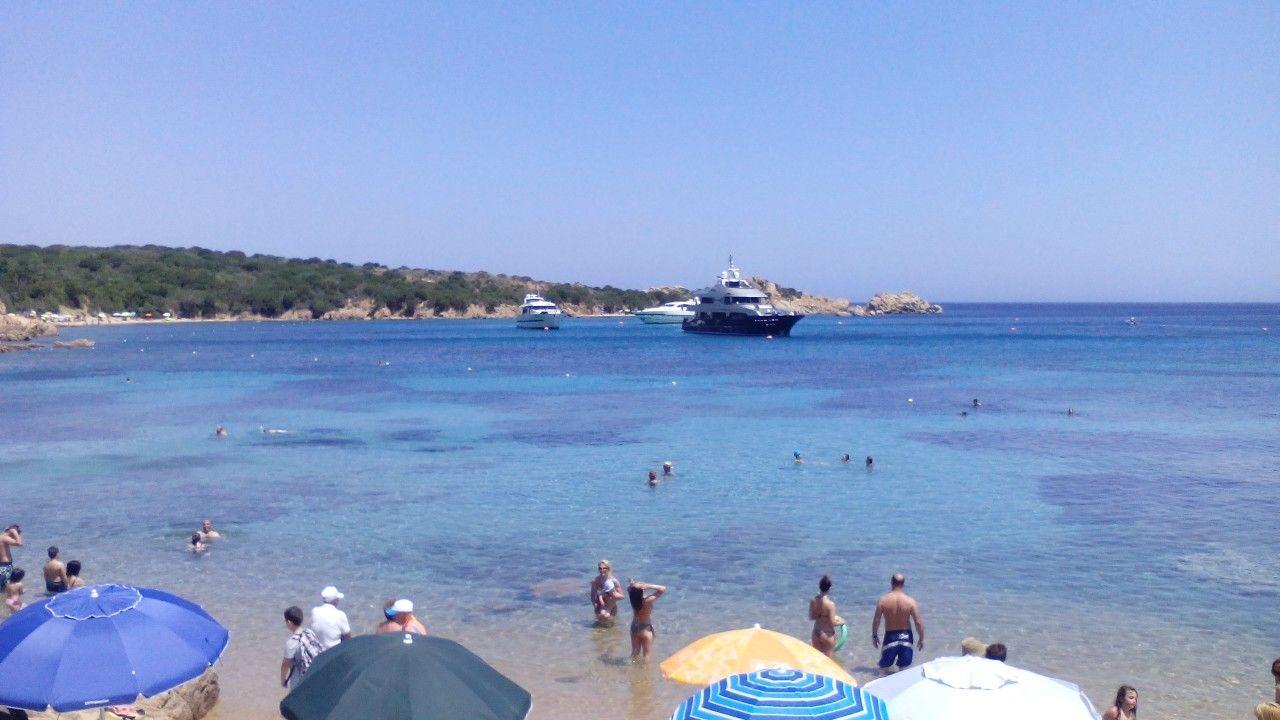 La Maddalena spiaggia.