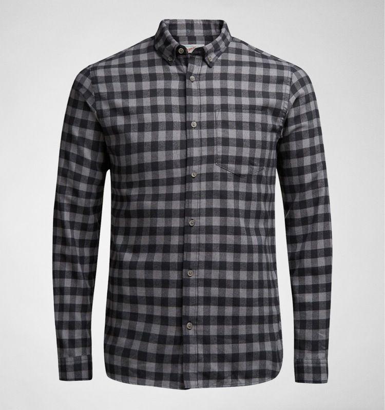 2859a7b801 Jack   Jones JOR William Shirt LS Grey Melange