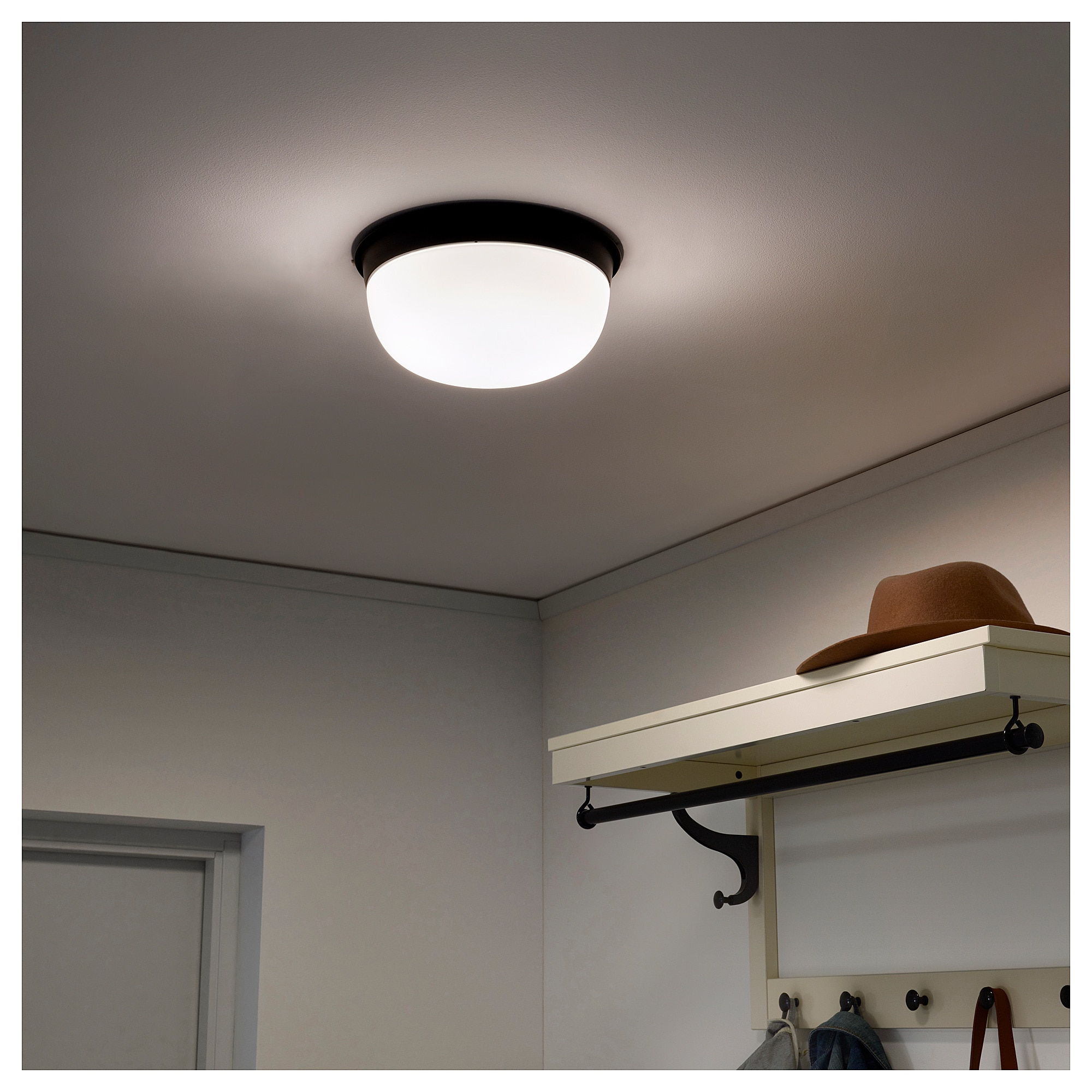 Skurup Ceiling Wall Lamp Black 10 25 Cm Wandlampe