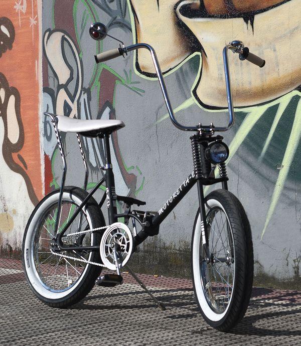 Motoretta Custom With Images Retro Bike Retro Bicycle Custom