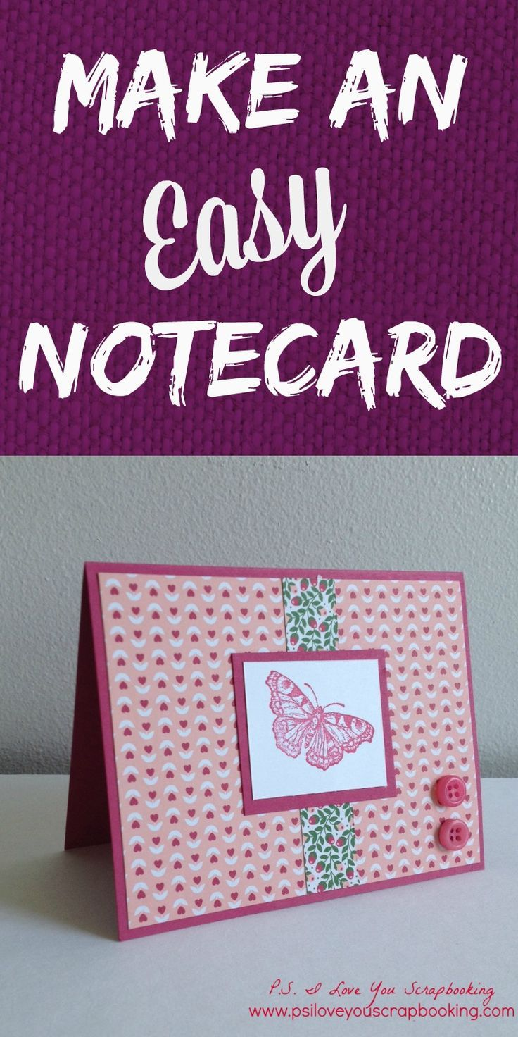 notecard maker