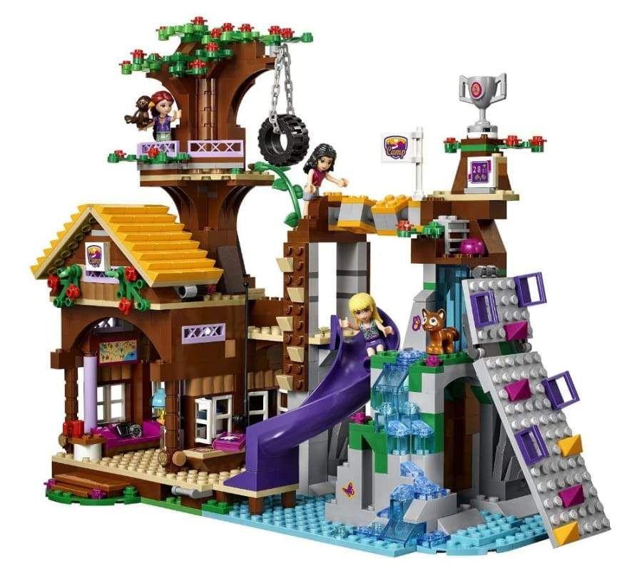 Adventure Camp Tree House Building Blocks Set Legos Creations