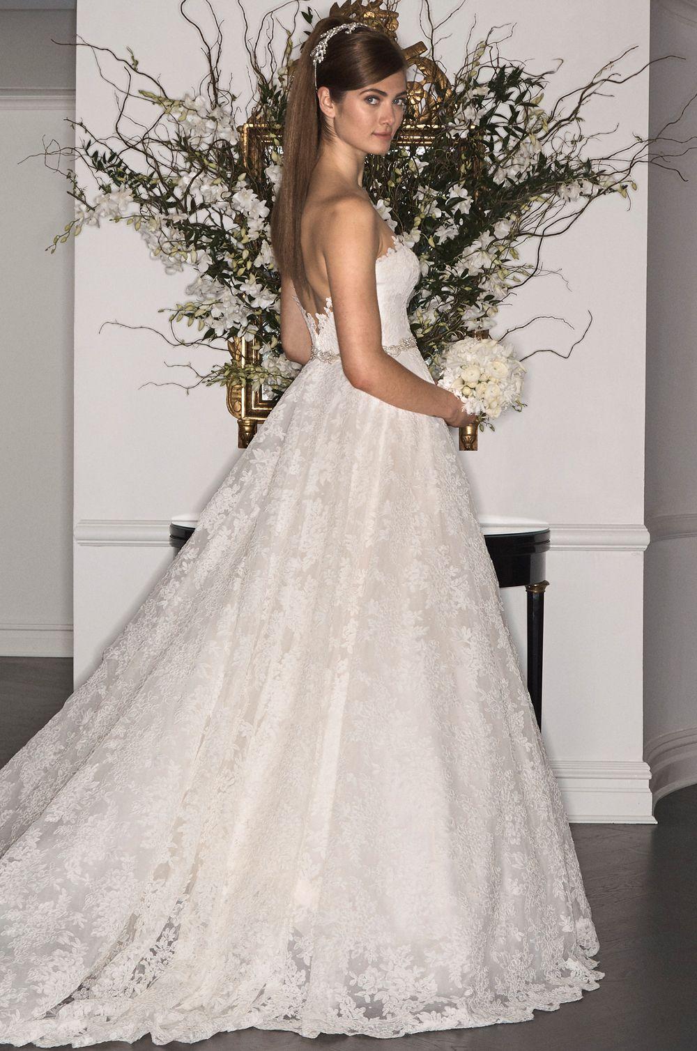 L7179 | LEGENDS Romona Keveža Fall 2017 | Wedding Bells | Pinterest ...