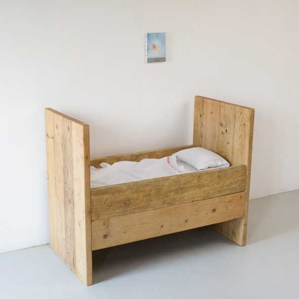 Reclaimed Wood Crib Katrin Arens Baby Doll Bed Baby