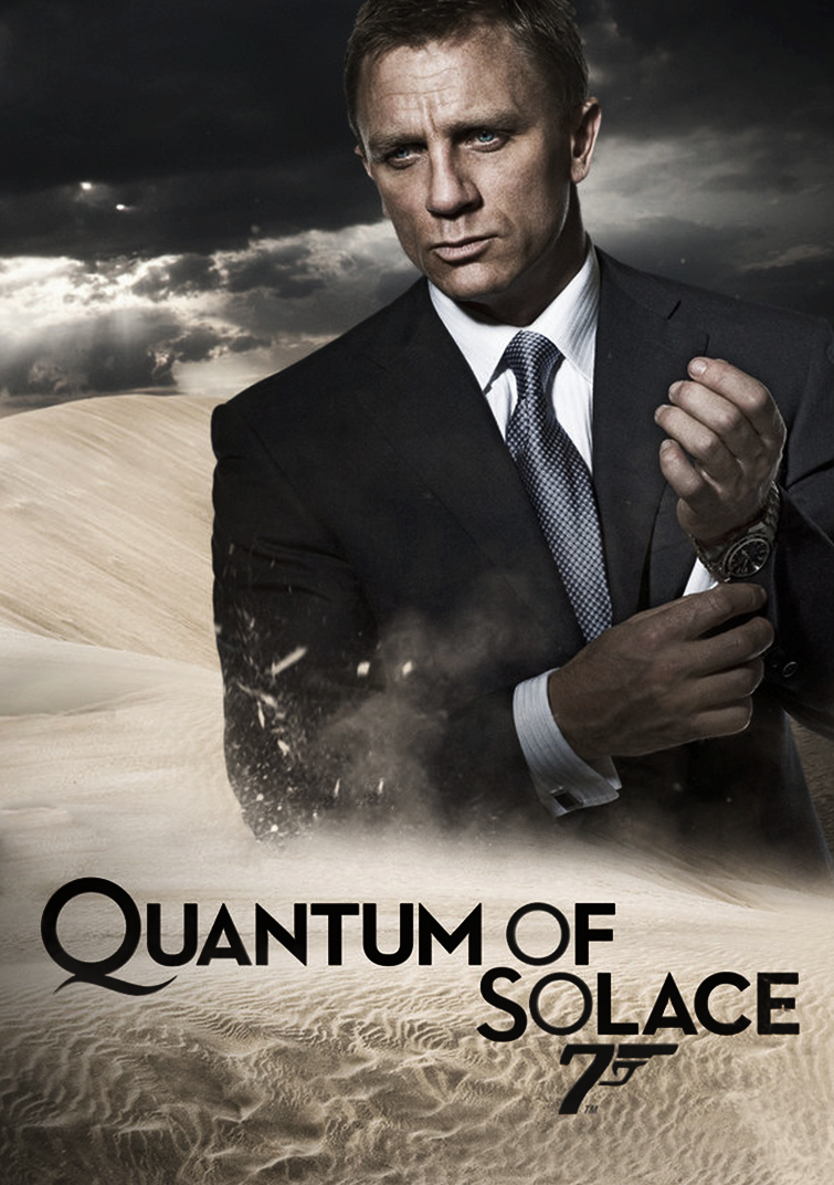 ACTION MOVIE POSTER Quote James Bond