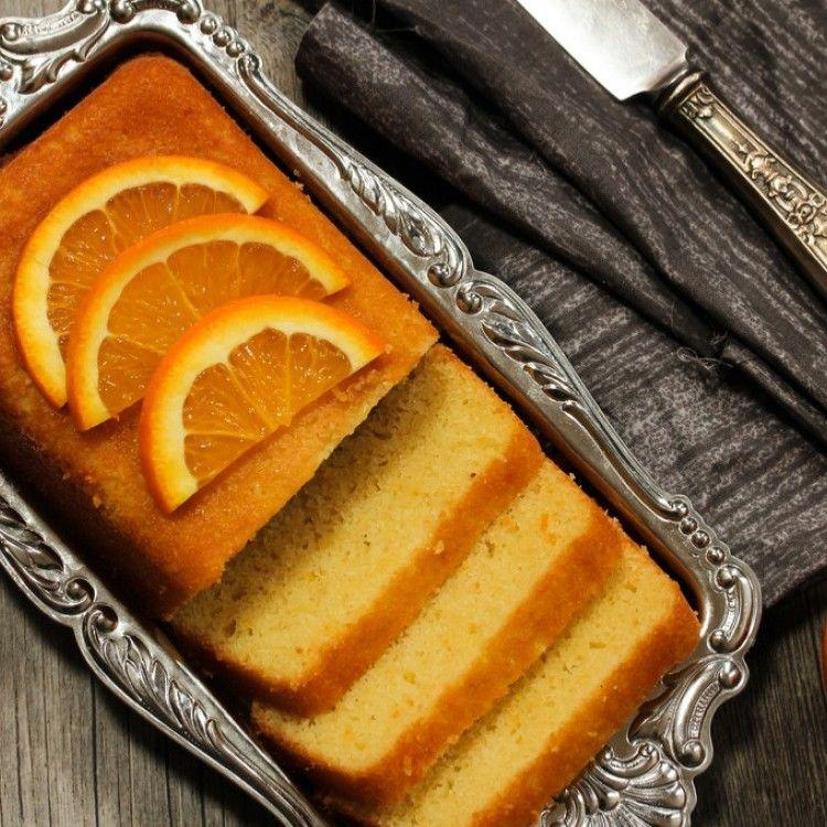 كيكة البرتقال بدون بيض مطبخ سيدتي Recipe Orange Sponge Cake Almond Pound Cakes Cake Recipes