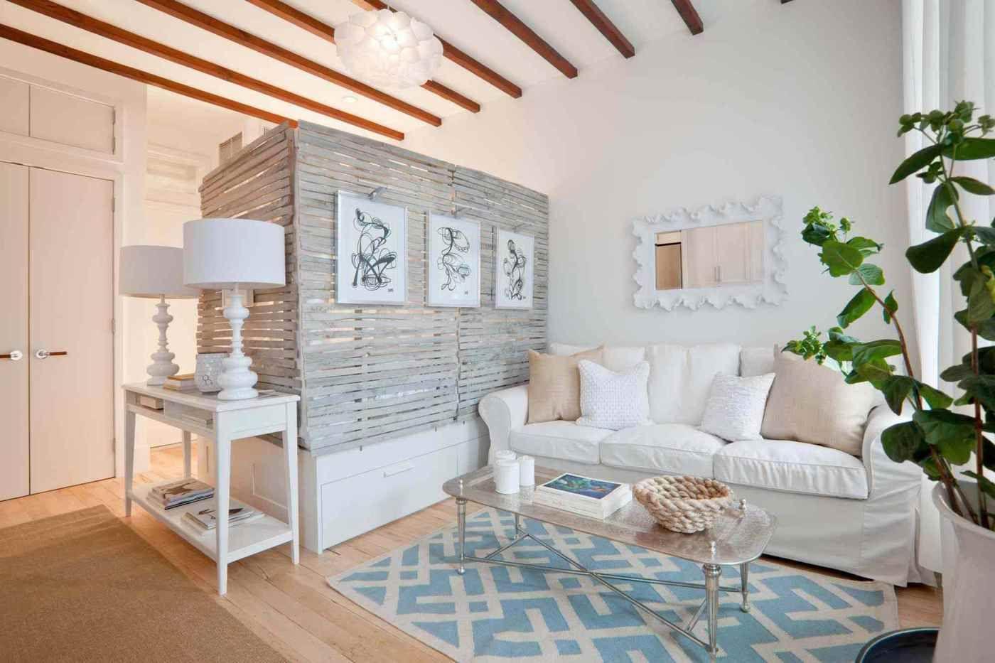 Einrichtungsbeispiele Fur Wohn Und Schlafzimmer In Einzimmerwohnungen Wohnung Einrichten Und Wohnen Wohnzimmer Wohn Schlafzimmer