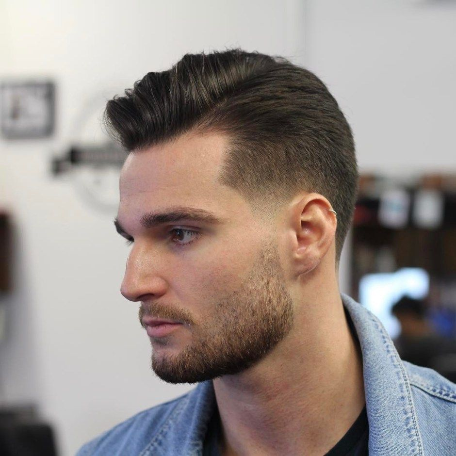 Good Haircuts For Men  Gentlemen Hairstyles Mens Haircuts - Swept hairstyle men