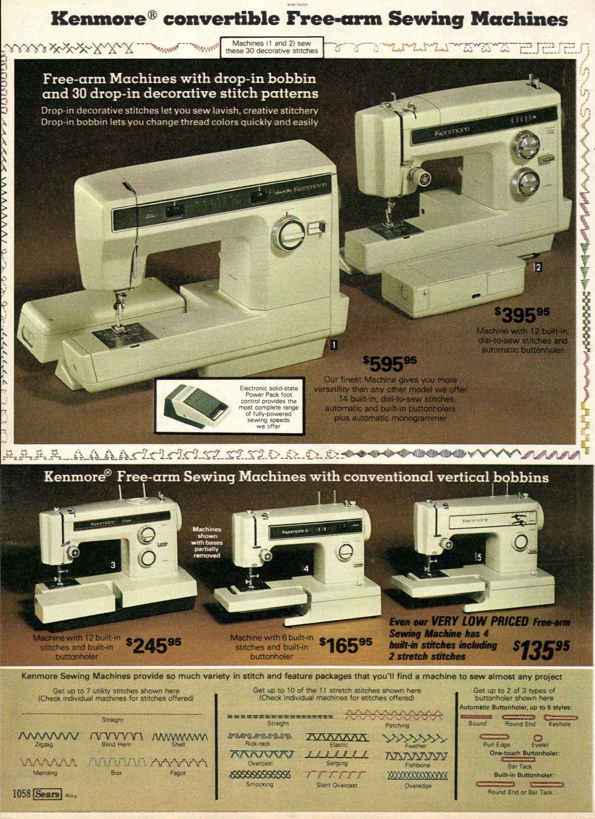 1980 Singer Sewing Machine : singer, sewing, machine, Symaskiner/Sewing, Machine