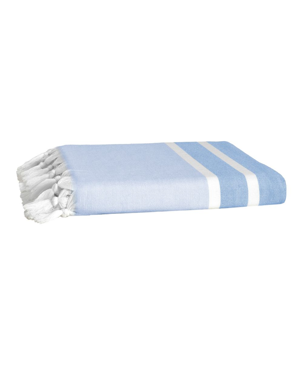 Blue Ephesus Turkish Cotton Bath Towel