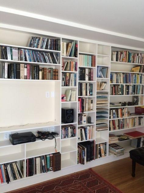 Shallow Bookshelves For Paperbacks