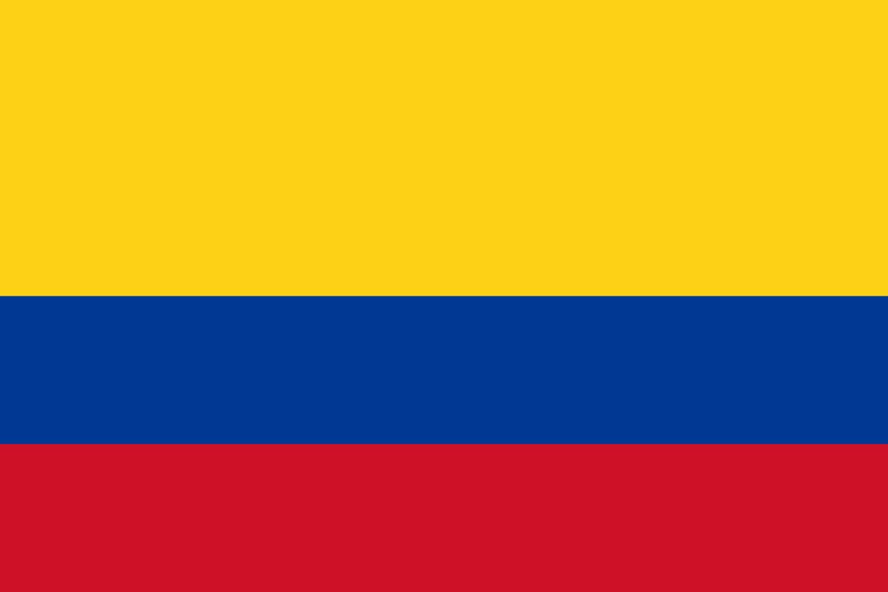 Bandera Colombia Png Bandera De Colombia Bandera Banderas Del Mundo