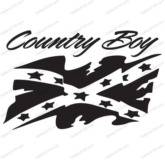 Country Boy, Rebel Flag, Battle Flag, Confederate Flag #decal #sticker #rebel-flag #dixie #battle-flag #confederate-flag #battle #rebel #confederate #history #redneck #country #boy #saying