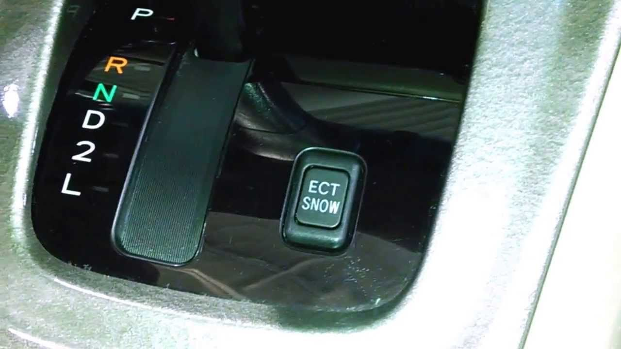 Toyota Highlander Ect Snow Mode