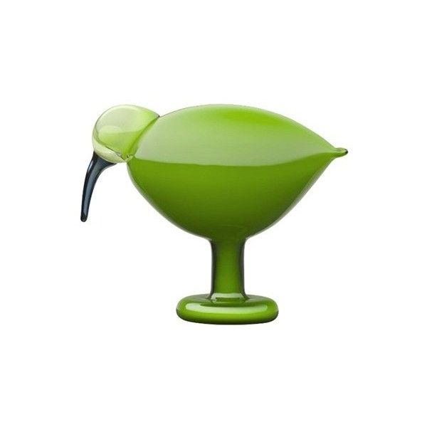 Iittala birds by toikka ibis green ($599) ❤ liked on Polyvore featuring home, home decor, bird home decor, green home accessories, minimal home decor and green home decor