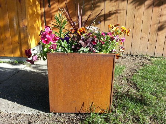 Metal Planters, Made in the USA | Gardening | Portland Monthly