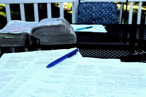 Spouse Scripture Study with a focus on our children