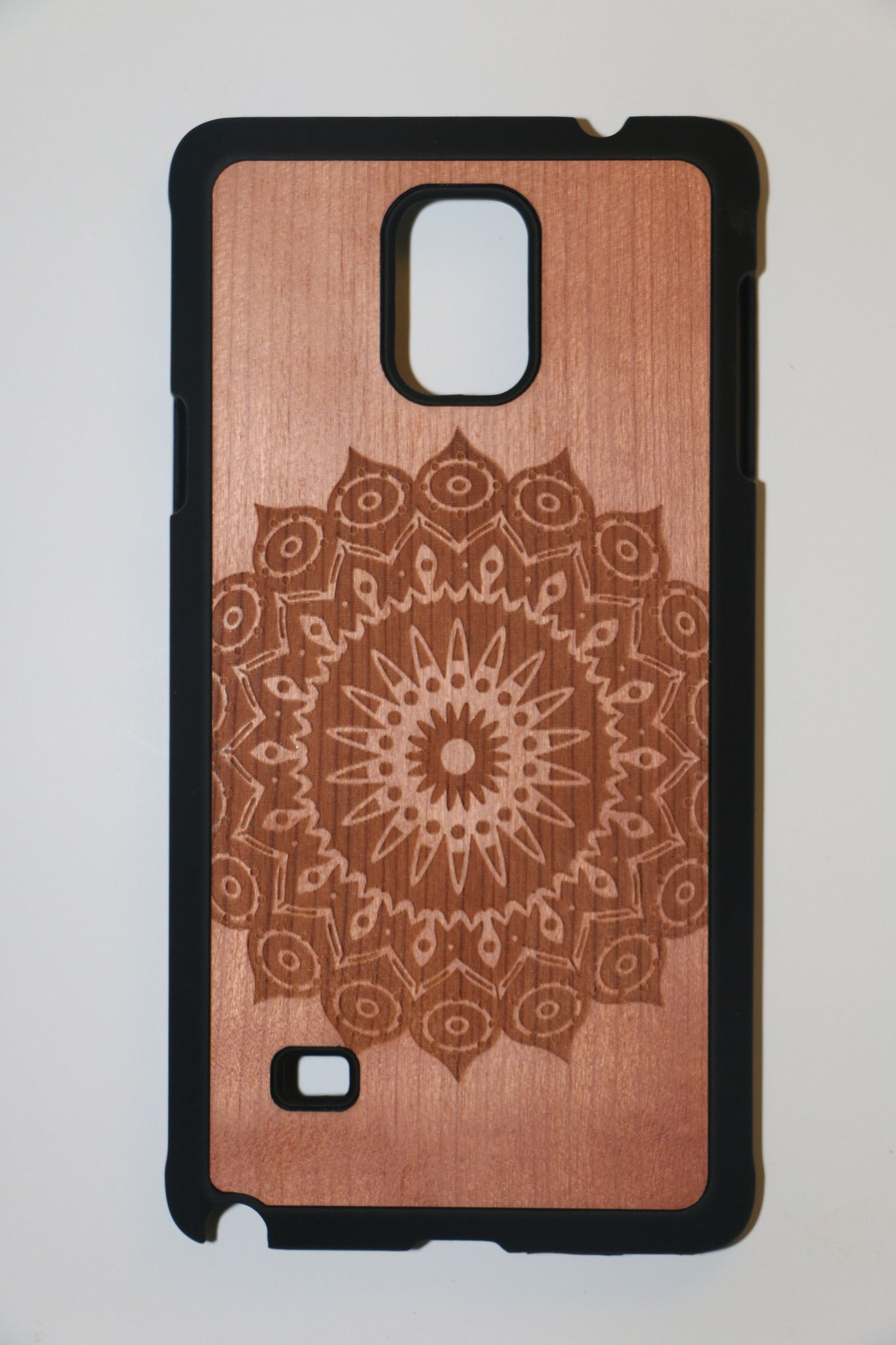 Samsung Note 4 Mandala Slim Wood Case