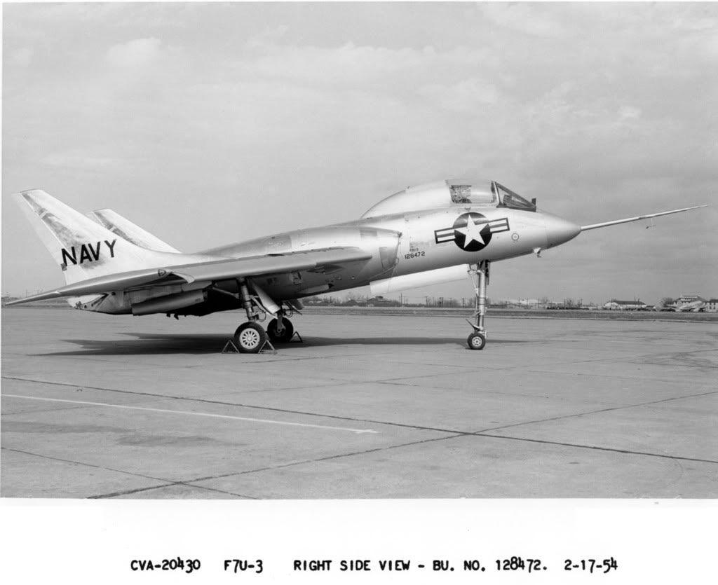 1950 S Usn F7u Cutlass Us Military Aircraft Military Aircraft Us Navy Aircraft