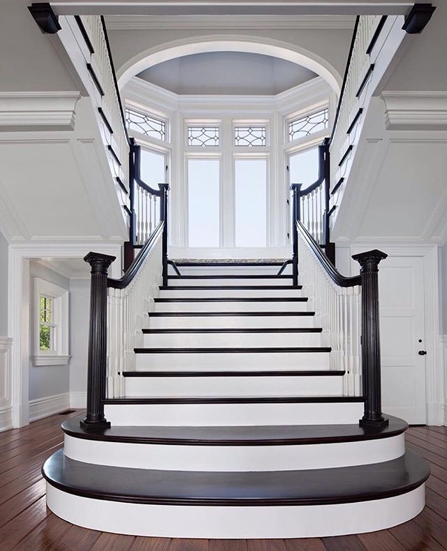 20 Excellent Traditional Staircases Design Ideas: Um, I'll Take The Stairs. . . . I Think You'll Want To
