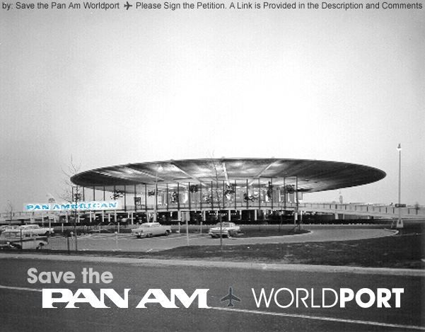 Please Help Save The Pan Am Worldport Delta Terminal 3 At Jfk