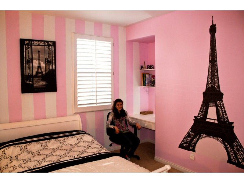 Eiffel Tower Themed Rooms | Eiffel Tower Wall Decal | House ...